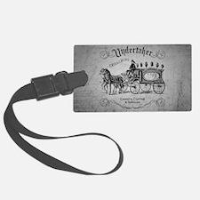 Undertaker Vintage Style Luggage Tag