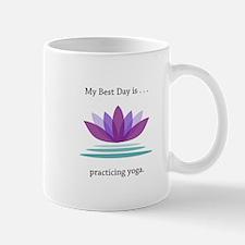 Best Day Lotus Yoga Gifts Mugs