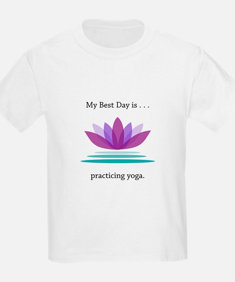 Best Day Lotus Yoga Gifts T-Shirt