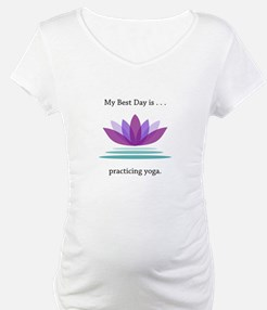 Best Day Lotus Yoga Gifts Shirt