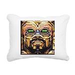 DA MAN Rectangular Canvas Pillow