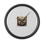 DA MAN Large Wall Clock