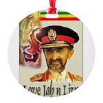 love-Jah-n-Live II.jpg Round Ornament