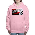 old school hiphop Women's Hooded Sweatshirt