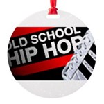 old school hiphop Round Ornament