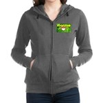 THE GREEN MONKEY.JPG Women's Zip Hoodie