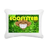 THE GREEN MONKEY.JPG Rectangular Canvas Pillow