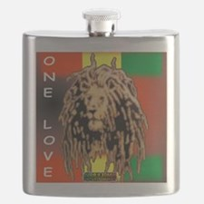 ONE LOVE LION Flask