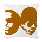 b-boy Woven Throw Pillow