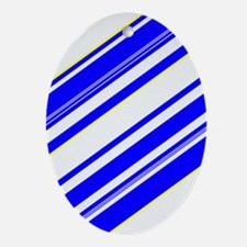 Blue Reality Tito's Fave Oval Ornament