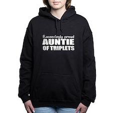 Triplets Women's Hooded Sweatshirt