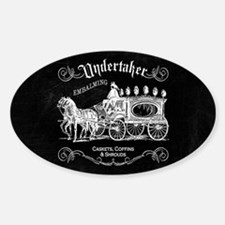 Undertaker Vintage Style Decal
