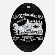 Undertaker Vintage Style Oval Ornament