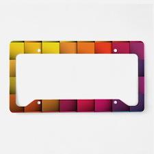 Colorblock License Plate Holder