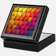 Colorblock Keepsake Box