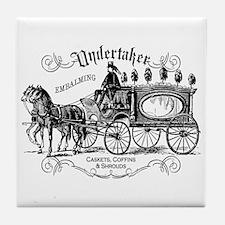 Undertaker Vintage Style Tile Coaster
