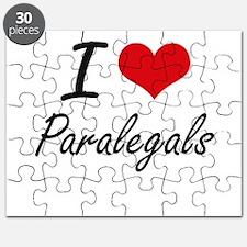I love Paralegals Puzzle
