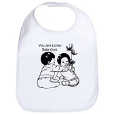 You Are Loved Baby Girl Bib