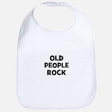 Old People Rock Bib