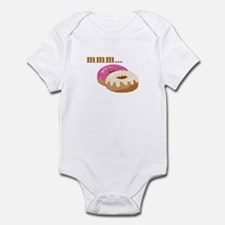 mmm... donuts Infant Bodysuit