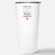 Gay Pride Love Is... Travel Mug