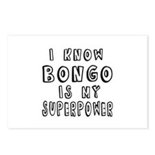 Bongo is my superpower Postcards (Package of 8)