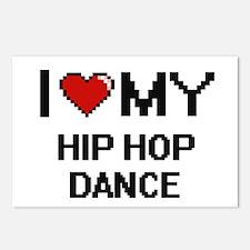 I Love My Hip Hop Dance D Postcards (Package of 8)