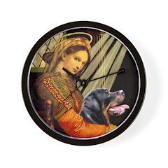 Madonna/Rottweiler Wall Clock