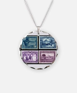 Cute Stamps Necklace