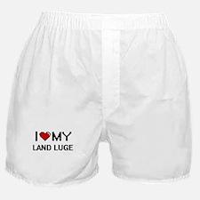 I Love My Land Luge Digital Retro Des Boxer Shorts