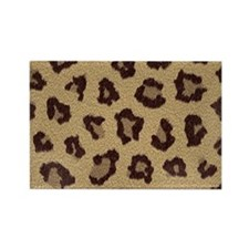 Leopard Print Magnets