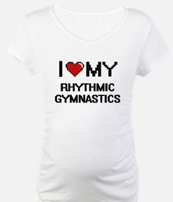 I Love My Rhythmic Gymnastics Di Shirt
