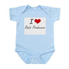 I love Radio Producers Body Suit