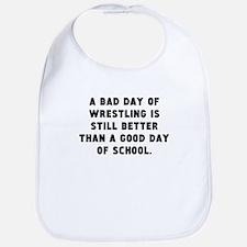A Bad Day Of Wrestling Bib