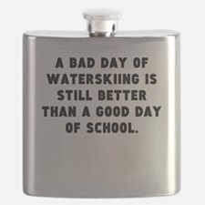 A Bad Day Of Waterskiing Flask