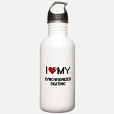 I Love My Synchronized Water Bottle