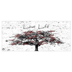 Love Life Framed Print