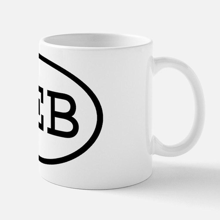 HEB Oval Mug