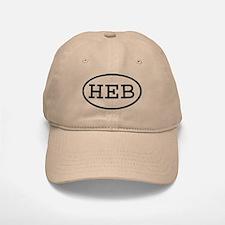 HEB Oval Baseball Baseball Cap