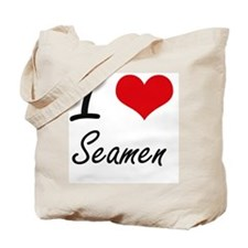 I love Seamen Tote Bag