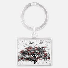Love Life Landscape Keychain