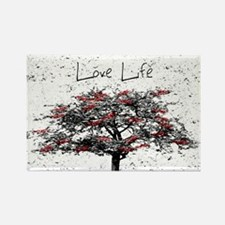 Love Life Rectangle Magnet