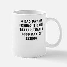 A Bad Day Of Fishing Mugs
