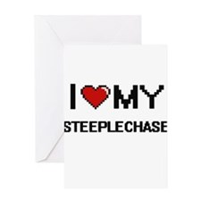 I Love My The Steeplechase Digital Greeting Cards