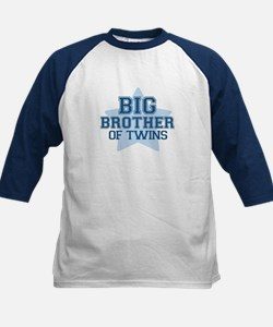 Big Brother of Twins - Kids Baseball Jersey