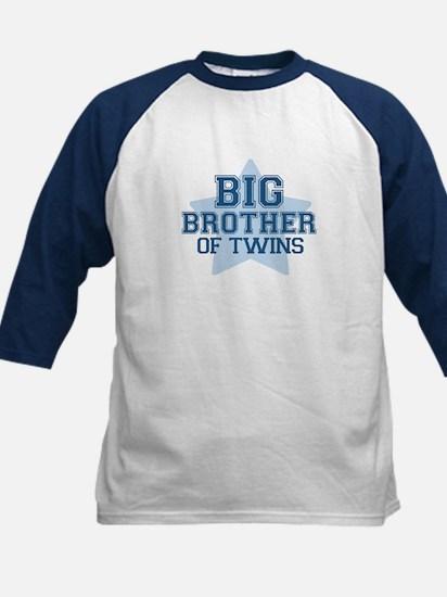 Big Brother of Twins - Kids Baseball Jersey