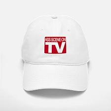 Ass Scene On TV Baseball Baseball Cap