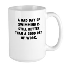 A Bad Day Of Swimming Mugs