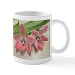Pink Tulips In Bloom Mug