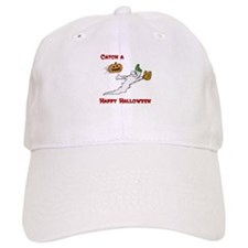 Ghost Baseball Catcher Baseball Cap